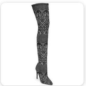 NWT Steve Madden 'Tiffy' Thigh High Lace Boots 10